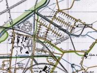 Kartenausschnitt Ebel u. Prosper I von 1904