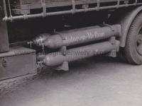 Kohletransporter mit Motoren-Methan betrieben